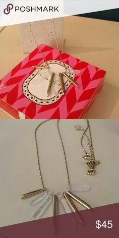 Stella & dot rebel cluster single strand necklace Perfect condition, single strand only with original box Stella & Dot Jewelry Necklaces
