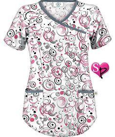 Cute Nursing Scrubs, Cute Scrubs, Scrubs Outfit, Scrubs Uniform, Scrubs Pattern, Stylish Scrubs, Work Uniforms, Professional Wear, Medical Scrubs