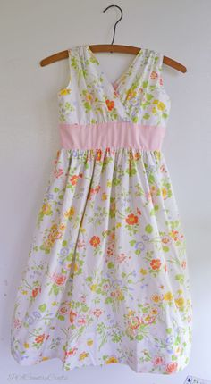 PACountryCrafts: Blushing Izzy Dress Tutorial