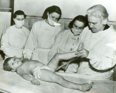 Sister Kenny polio treatment system, used warm moist wraps and joint manipulation.