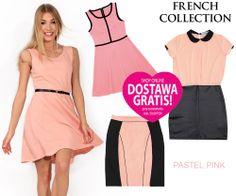 Pastel Pink! Tej wiosny pastele będa odgrywały główną rolę. Postaw na nie w sukienkach lub spódnicach. #frenchcollection #pastel #pastelpink #pinkdress #elegancewoman #elegant #fashion #paris #frenchstyle