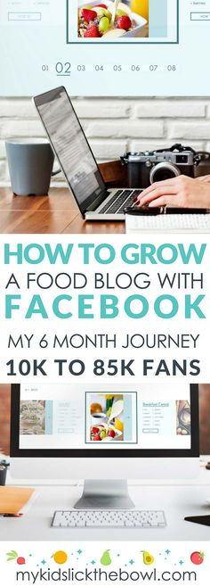 How to grow a food blog with Facebook. 10k to 85k Fans in 6 months, How facebook has increased my blog traffic and given me sponsored post opportunities