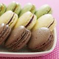 Chocolate-Hazelnut Macarons plus two flavor variations...Kosher for Passover is possible