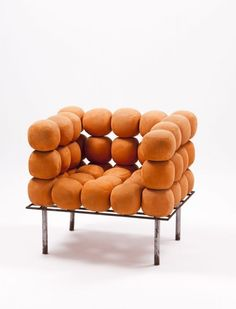 "Lot : Irmãos Campana (Brazil) ""Bola"" armchair Prototype Structure in metal and[...] | Dans la vente Art Moderne Lisbonne"