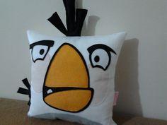 Almofada | Angry Birds | em feltro | white
