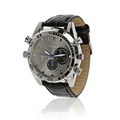 Capture high-definition videos or photos without anyone noticing. This watch has a Full HD hidden camera and features night vision. Hidden Camera, Spy Camera, Night Vision, Tech, Memories, Watches, Stars, Accessories, Tecnologia