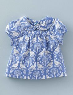 Our Pretty Collar T-shirt is made from 100% cotton, making it simply cozy and ideal for your little one. Shirt comes in 2 sweet patterns and a Peter Pan collar // $22.05