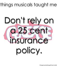 Don't Rely On A 25 Cent Insurance Policy.