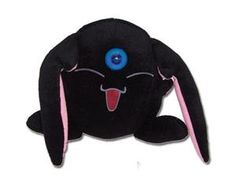 The Black Mokona, whose real name is Larg, is a small, black, rabbit-like creature that loves to drink sake. Also seen in Tsubasa: Reservoir Chronicle. The Mokona plush measures about 7 inches. Anime Nerd, All Anime, Xxxholic, Monster Dolls, Anime Dolls, Anime Merchandise, All Things Cute, Anime Figures, Plush Dolls