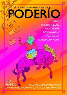 Poderío encuentro autopublicaciones Madrid en Hub Cartel por Miriam Persand