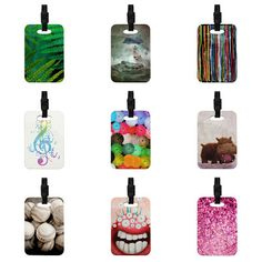 Kess InHouse Luggage Tags