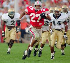 Ohio State's Eddie George - loved watching him play in The Shoe