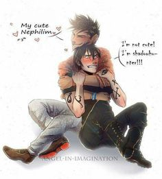 Malec♥♥ I totally see that happen (by Angel-In-Imagination on DeviantArt) Mortal Instruments Books, Shadowhunters The Mortal Instruments, Malec Shadowhunters, Clace, Vampires, Cassandra Clare Books, Alec Lightwood, The Dark Artifices, City Of Bones