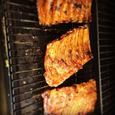 Ribs on the smoker today