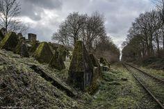 Oude spoorlijn door de Siegfried linie....Maastrichte Region