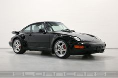 1994 Porsche 964 3.6 Turbo S Flachbau flatnose Black/grey for sale | Sloancars