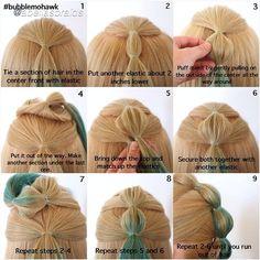 Crazy Hair Day For Girls Mohawk - Crazy Crazy Hair For Kids, Crazy Hair Day At School, Crazy Hair Days, Dance Hairstyles, Mohawk Hairstyles, Little Girl Hairstyles, Cute Toddler Hairstyles, School Hairstyles, Mohawk Ponytail