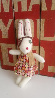 Easter Pirate Glove Bunny