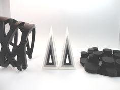 Perspex Triangle Jewels