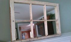 Sash Window Wall Mirror