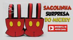 DIY sacolinha surpresa do Mickey em EVA
