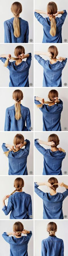shares Facebook Twitter Google+ Pinterest StumbleUponDear girls you will probably agree with us that the hardest thing that you can do in the morning before go to work is to fix your hair. When it comes to preparing for a job then you have to be willing type top, but we do not always have...