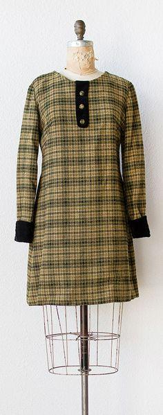 vintage 1960s dress   vintage 1960s SCHOLARS ON THE GREEN dress