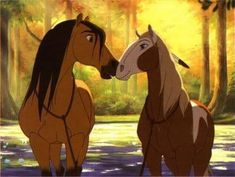 spirit - spirit-stallion-of-the-cimarron Photo Spirit And Rain, Horse Movies, Childhood Movies, The Big Four, Disney And Dreamworks, Book Of Life, Book Characters, Disney Movies, Drawing Reference