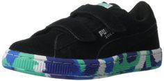 PUMA Suede Rubber Mix Sneaker (Toddler/Little Kid/Big Kid),Black/Puma Silver/Multi Color,6 M US Toddler PUMA http://www.amazon.com/dp/B00DUGLEDS/ref=cm_sw_r_pi_dp_LWNtwb0Z7A6N8