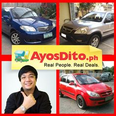 Over Ayos buyers are looking for pre-loved cars on AyosDito. Sell yours now. Real People, Cars And Motorcycles, Cars For Sale, Philippines, Toyota, Stuff To Buy