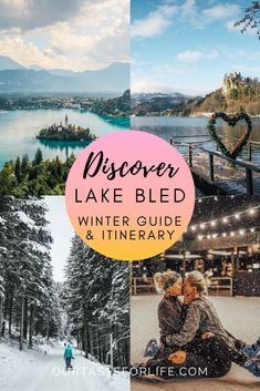 Visit Slovenia, Slovenia Travel, Lake Bled, Best Travel Guides, Winter Activities, Winter Travel, Travel Couple, Asia Travel, Day Trip