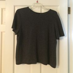 Cashmere T shirt Charcoal grey. Good condition. Only Mine Tops Tees - Short Sleeve