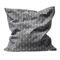 Mika Barr Origami Cushion by Nake: 3-D folding fabric. It's 86 British Pounds and ships to the States. #Pillow #MIka_Barr