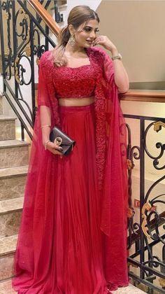 Pakistani Dresses Casual, Indian Gowns Dresses, Indian Fashion Dresses, Indian Designer Outfits, Lehenga Designs, Half Saree Designs, Indian Wedding Gowns, Indian Bridal Outfits, Wedding Dresses