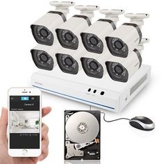 Zmodo 8 CH Outdoor 1280  720P IP Network PoE HD Home Security Camera System 1TB    $479.99   $564.69   (34 Available)End Date: Aug 312016 07:59 AM GMT-07:00