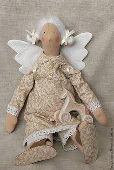 Сливочная Карамель. - тильда,кукла Тильда,текстильная кукла,оригинальный подарок