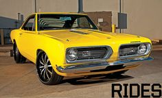 1968 Plymouth Barracuda Resto-Mod. Awesome American Muscle Machine!