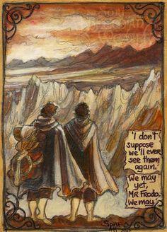 Фродо и Сэм в Мордоре