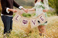 Love and Date burlap wedding banner Burlap Banner Wedding, Garland Wedding, Rustic Prenup, Prenup Photos Ideas, Photo Ideas, Wedding Prints, Love Dating, Wedding Photos, Wedding Stuff