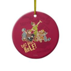 Lost Boys Rule Christmas Tree Ornament