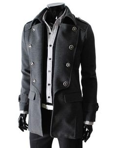 Accented Captain Trench - SLS Distributors Men's Boutique, LLC