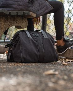 Two Times A Yogi Bag | Carrying our gym bag, yoga mat and purse around all day makes us feel scattered. We streamlined things with a bag that stores our clothes and laptop, plus an external strap to secure our mats. Because keeping thing simple helps us stay Zen inside and outside the studio.