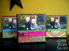 Picture Frames- Great gift idea!!