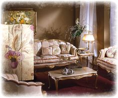 dekoracje do salonu styl angielski