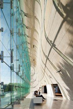 Lahdelma & Mahlamäki's Polish Museum Wins Inaugural Finlandia Prize #glass