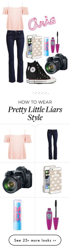 """""""Pretty Little Liars Aria"""" by cupcakel0ver101 on Polyvore"""