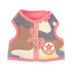 Pinkaholic New York NAQA-AH7210-PK-M Delta Harness for Pets, Medium, Pink * Additional details @