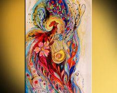 Arte de hadas original pintura de la serie Mi por LenaKotliarker