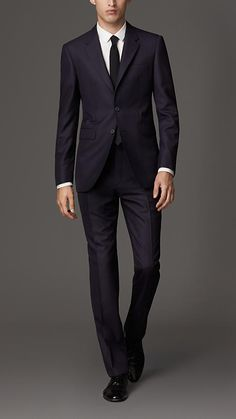 Burberry London Modern Fit Wool Suit