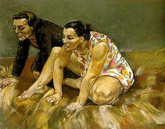 History of Art: Paula Rego, Scavengers Paula Rego Art, Figure Painting, Painting & Drawing, Mario Cesariny, Nadir Afonso, Portraits, Sculpture, Art Sketchbook, Contemporary Artists
